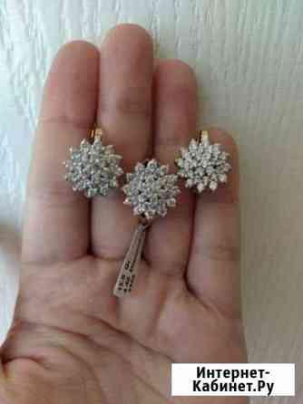 Комплект бриллиантовый Черкесск