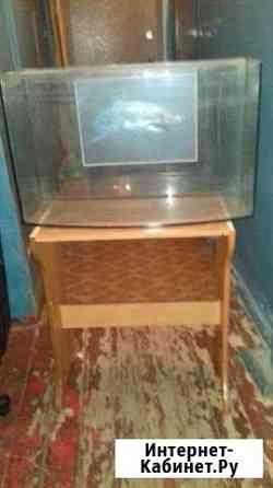 Продаю фигурный аквариум 770х470х280 100л Нижний Новгород
