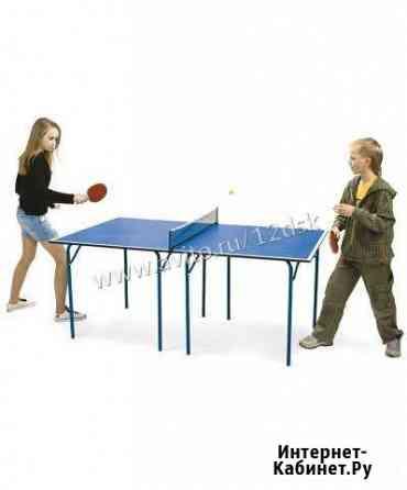 Стол для настольного тенниса Cadet, с сеткой Йошкар-Ола