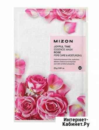Тканевая маска для лица с экстрактом лепестков роз Москва
