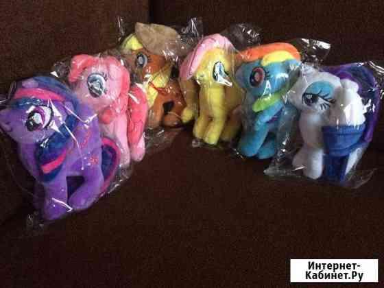 Новые мягкие игрушки My Little Pony Хабаровск
