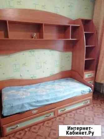 Кровать со стенкой Березовский