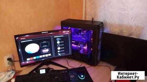Игровой пк AMD Ryzen 5 1600 со всеми девайсами Чебоксары