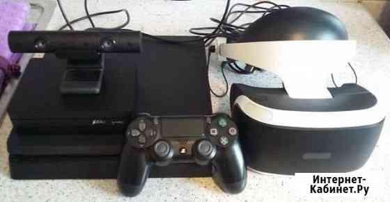 Sony PS4 Slim (500gb) + Очки Sony VR + Игры Самара