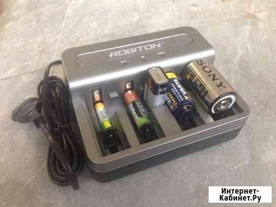 Зарядное устройство для аккумуляторов D, C, Крона Казань
