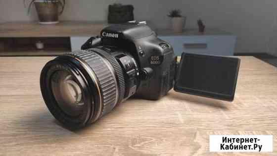 Canon 600D с объективом Canon EF-S 17-85mm Нальчик