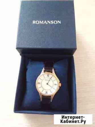 Часы Новые женские элегантные с позолотой Romanson Челябинск