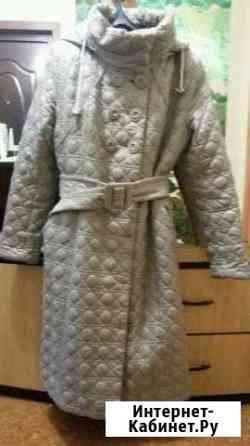 Демисезонное болоневое пальто Петропавловск-Камчатский