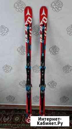 Горные лыжи с креплениями Atomic Redster Doubledec Новобурейский