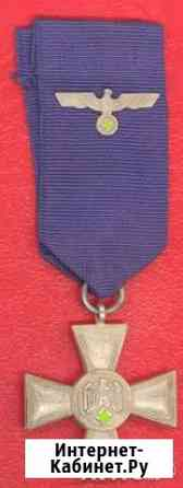 Германия Крест за 18 лет выслуги в вермахте 3 рейх Орёл
