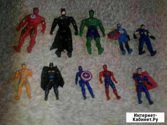Набор супер героев для мальчиков Нальчик