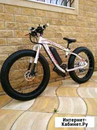 Электрический велосипед 750w 48v 12ah фет фет байк Махачкала