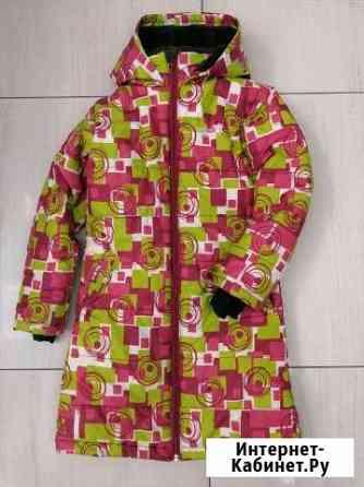 Куртка удлинённая для девочки Уфа