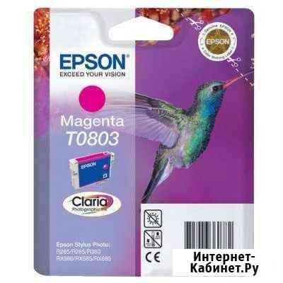 Оригинальный картридж Epson T0803 Кострома