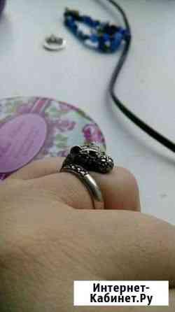 Кольцо леопард серебро Ижевск