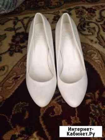 Туфли белого цвета Чебоксары