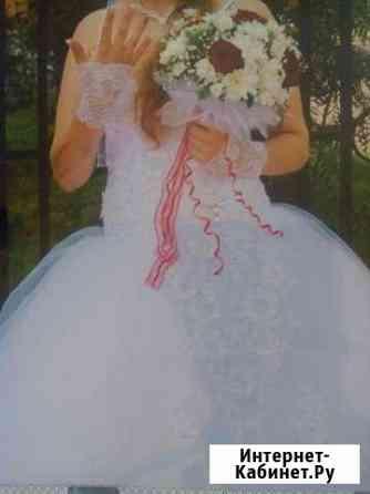 Красивое свадебное платье Биробиджан