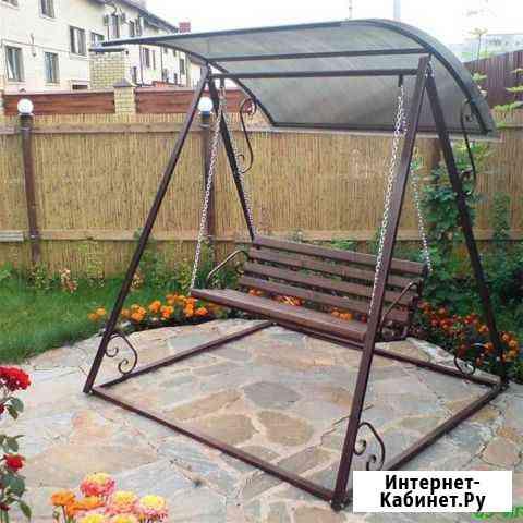 Художественная ковка Качели #0201 Тольятти