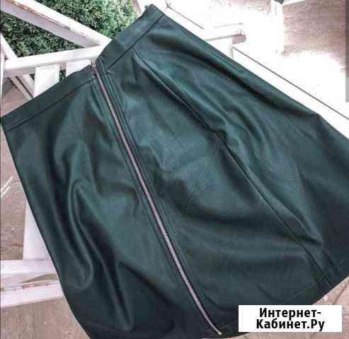 Новая юбка из искусственной кожи Хабаровск