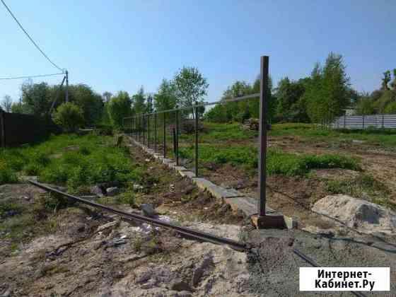 Заборы профнастил сетка рабица Калининград