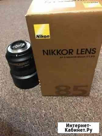 Продам объектив Nikon Nikkor 85mm AF-S Уфа
