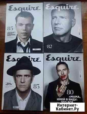 Журналы Esquire, GQ за 2010 - 2014 года Петрозаводск