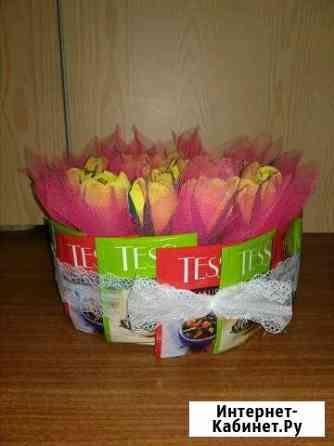 Цветы из конфет Кременки
