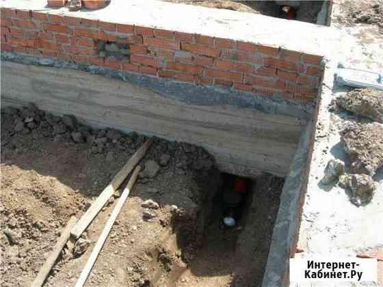 Проведение канализации, воду,отопление Махачкала