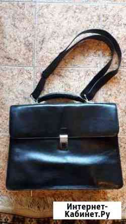 Кожаный портфель Самара
