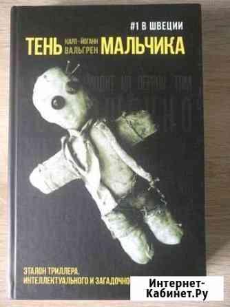 Книга Тень мальчика Карл-Йоганн Вальгрен Тольятти