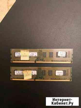 Оперативная память озу две планки по 2 гб Грозный