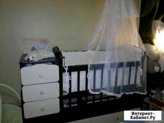 Детская кроватка трансформер Норильск