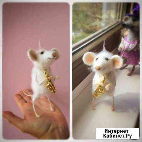 Мышка из шерсти Вологда