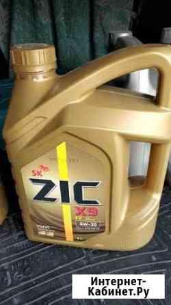 Масло моторное ZIC X9 5W-30, 8 литров Ульяновск