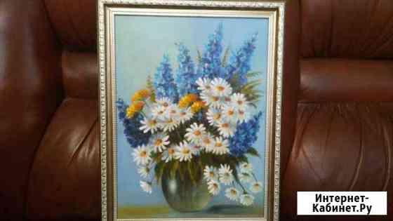 Картина маслом с цветами Саранск