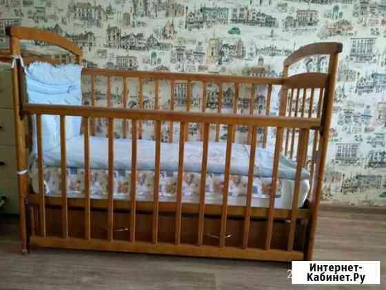 Кроватка детская в отличном состоянии Чебоксары