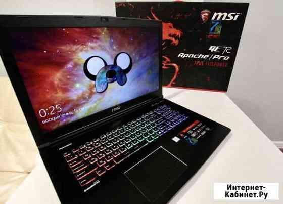 MSI GE72 7RE Apache Pro Игровой ноутбук Реутов