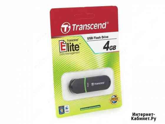 Флэшка Transcend 4 (8) Gb USB 2.0 (3.0) Обнинск