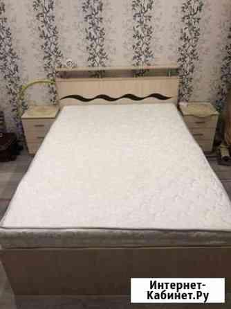 Кровать,матрас и тумбочки Смоленск