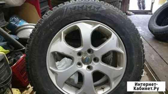 Продам комплект зимних колёс с дисками Архангельск