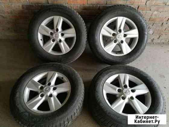 Оригинальные колеса Lexus LX570 R18 5х150 Омск