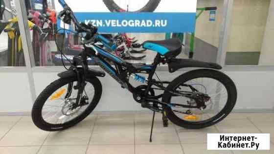 Велосипед novatrack 20 shark, чёрный Казань