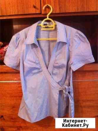 Рубашка х.б. с запахом Туапсе