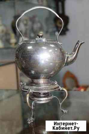 Бульотка чайник старая Англия, серебрение Пенза