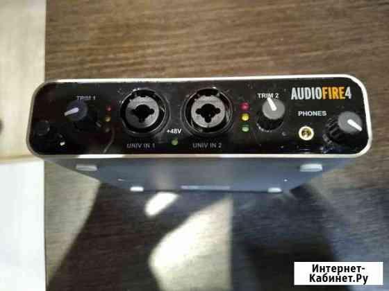 Внешняя звуковая карта Echo AudioFire 4 Тобольск