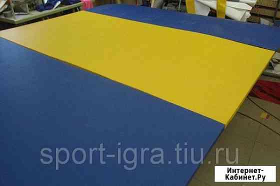 Дорожка акробатическая массовая складная для школ 15х2х0, 025м Дмитров