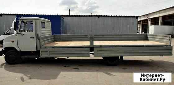 Удлинение грузовых автомобилей ЗиЛ 5301 Бычок с установкой европлатформы Казань