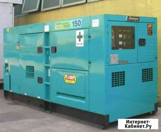 Аренда генератора 100 кВт Denyo в Рентпром Москва