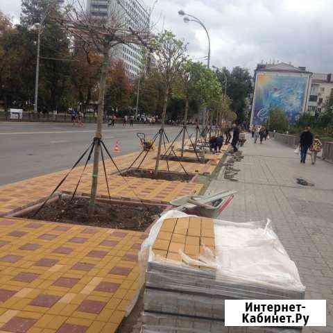 Благоустройство территории Ростов-на-Дону