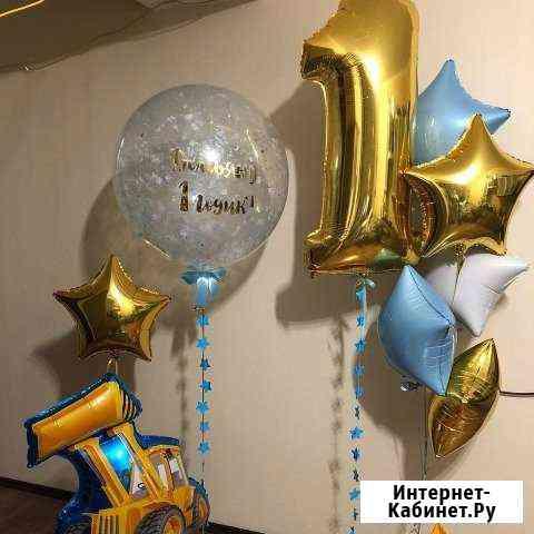 Гелиевые и воздушные шары, оформление Новосибирск